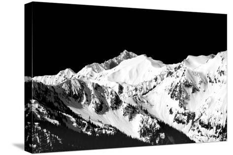 Mountains in Spring II-Douglas Taylor-Stretched Canvas Print