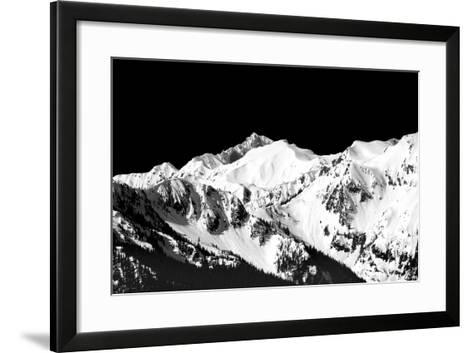 Mountains in Spring II-Douglas Taylor-Framed Art Print