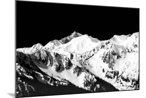 Mountains in Spring II-Douglas Taylor-Mounted Photo