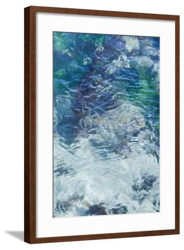 Tide Pool II-Rita Crane-Framed Art Print