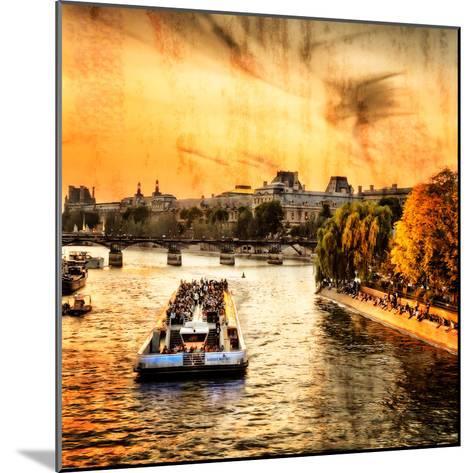 River Seine at Sunset II-Alan Hausenflock-Mounted Photo