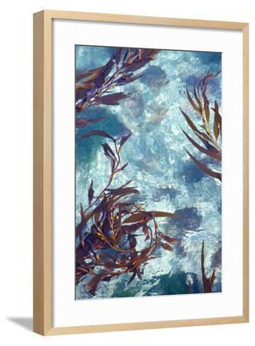 Mermaid Tresses IV-Rita Crane-Framed Art Print