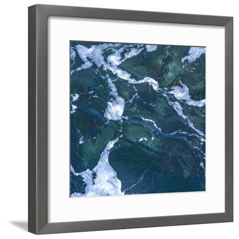 Seafoam I-Rita Crane-Framed Art Print