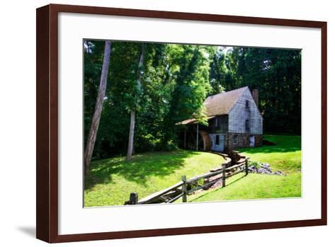 18th Century Grist Mill I-Alan Hausenflock-Framed Art Print