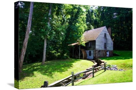 18th Century Grist Mill I-Alan Hausenflock-Stretched Canvas Print