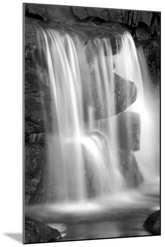 Sunset Waterfall II BW-Douglas Taylor-Mounted Photo
