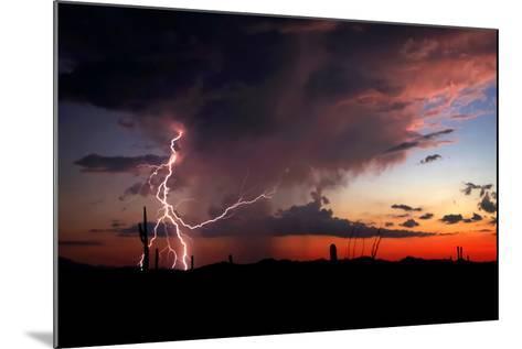 Twilight Lightning I-Douglas Taylor-Mounted Photo