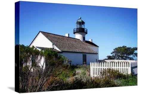 Point Loma Lighthouse II-Alan Hausenflock-Stretched Canvas Print