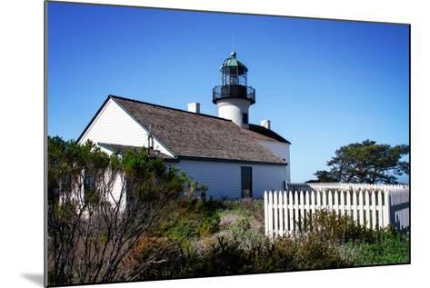 Point Loma Lighthouse II-Alan Hausenflock-Mounted Photo