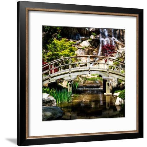 Japanese Garden V-Alan Hausenflock-Framed Art Print