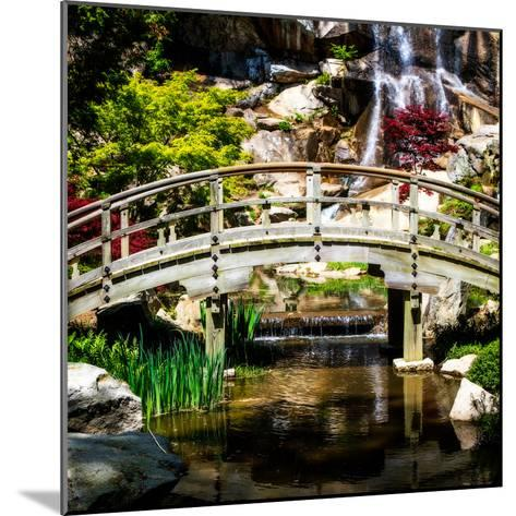 Japanese Garden V-Alan Hausenflock-Mounted Photo