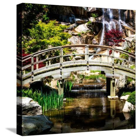Japanese Garden V-Alan Hausenflock-Stretched Canvas Print