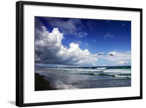 Awesome Beach Day I-Alan Hausenflock-Framed Art Print