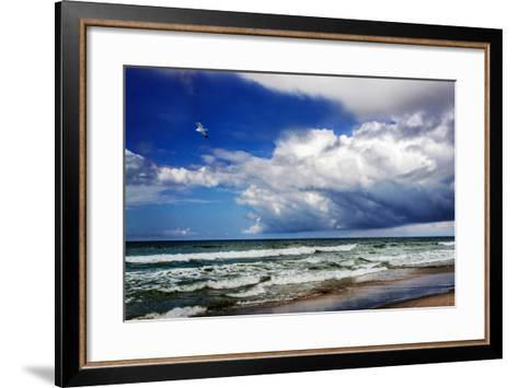 Awesome Beach Day II-Alan Hausenflock-Framed Art Print
