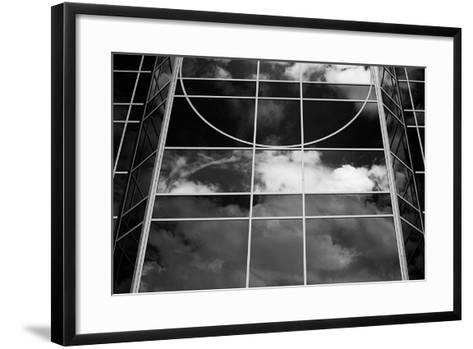 Clouds in the Glass II-Alan Hausenflock-Framed Art Print