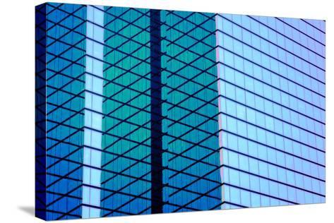 Glass & Steel I-Alan Hausenflock-Stretched Canvas Print