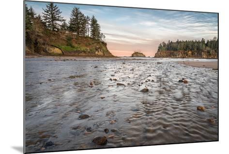 Sunrise at Sunset Bay-Stan Hellmann-Mounted Photo