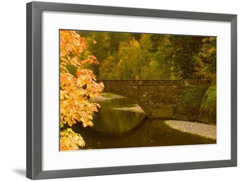 Stone Bridge-Ike Leahy-Framed Art Print