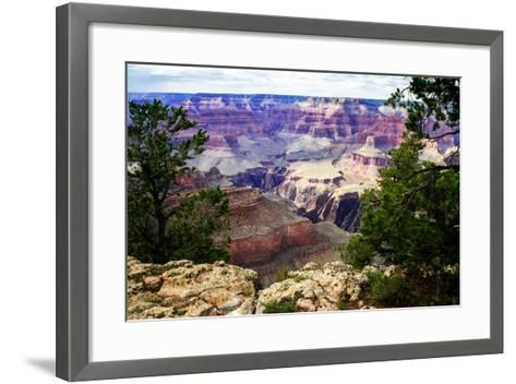 Canyon Shadows III-Alan Hausenflock-Framed Art Print