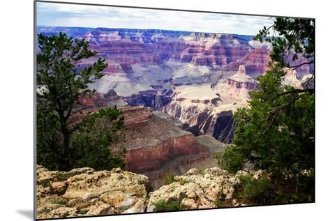Canyon Shadows III-Alan Hausenflock-Mounted Photo