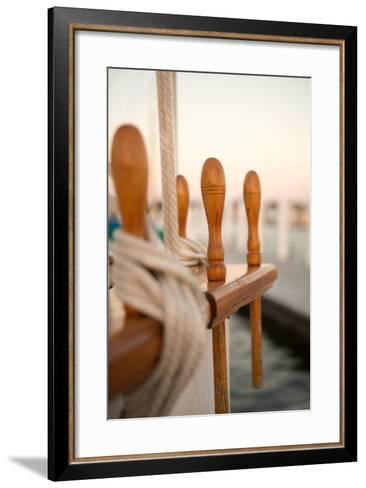 Boat Ties-Karyn Millet-Framed Art Print