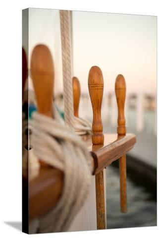 Boat Ties-Karyn Millet-Stretched Canvas Print