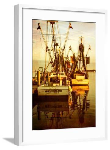 At the Dock III-Alan Hausenflock-Framed Art Print