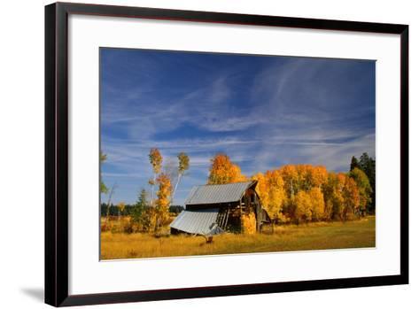Old Barn-Ike Leahy-Framed Art Print
