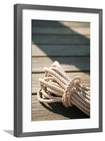 Boat Rope-Karyn Millet-Framed Art Print