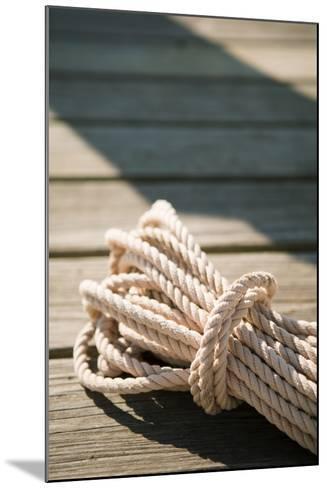 Boat Rope-Karyn Millet-Mounted Photo