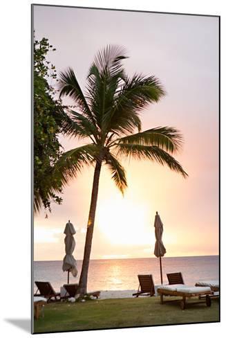 Peaceful Caribbean II-Karyn Millet-Mounted Photo