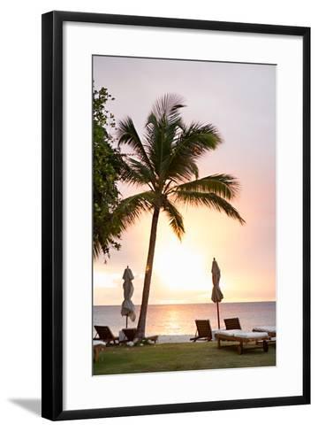 Peaceful Caribbean II-Karyn Millet-Framed Art Print