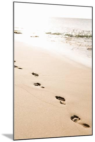 Beach Walk-Karyn Millet-Mounted Photo