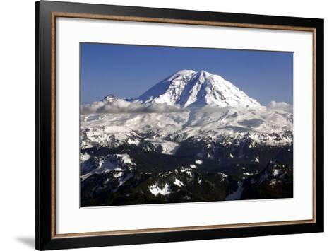 Mt Rainier North Face-Douglas Taylor-Framed Art Print