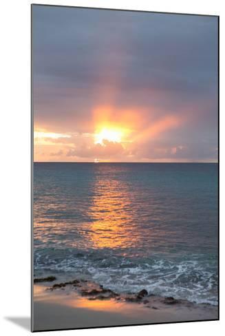 Island Sunset IV-Karyn Millet-Mounted Photo