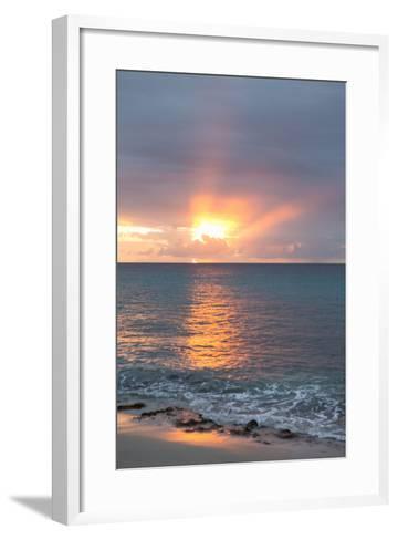 Island Sunset IV-Karyn Millet-Framed Art Print