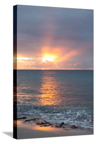Island Sunset IV-Karyn Millet-Stretched Canvas Print