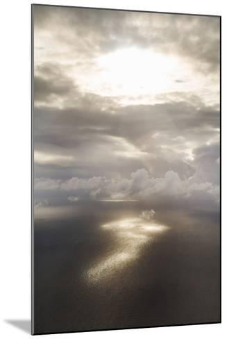 Clouds Over Water II-Karyn Millet-Mounted Photo