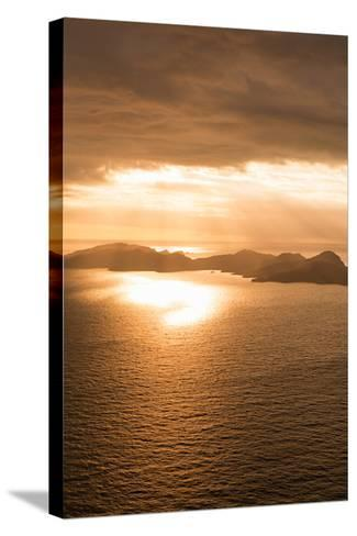 Island Sunset II-Karyn Millet-Stretched Canvas Print
