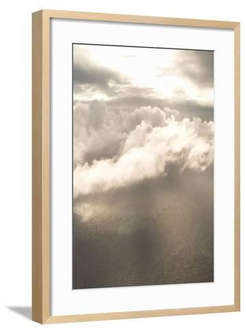 Clouds Over Water I-Karyn Millet-Framed Art Print