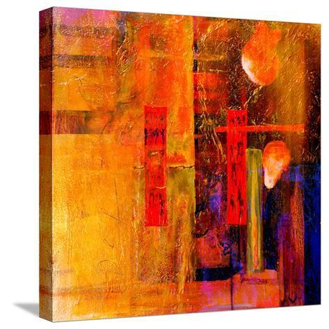 Original Oil Painting,Oil and Mixed Media on Canvas-Laurin Rinder-Stretched Canvas Print