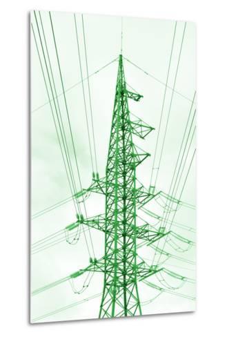 Green Energy Tower.-Vladislav Proshkin-Metal Print