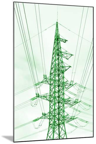 Green Energy Tower.-Vladislav Proshkin-Mounted Photographic Print