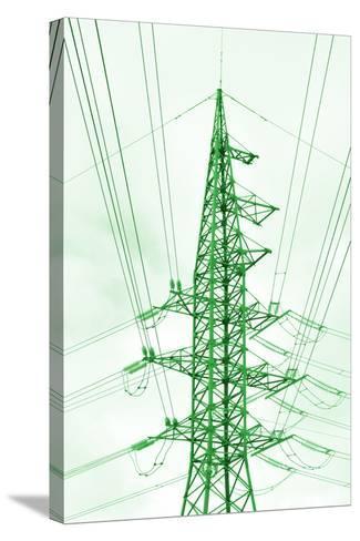 Green Energy Tower.-Vladislav Proshkin-Stretched Canvas Print