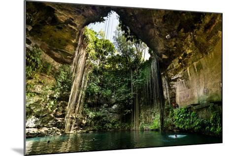 Ik-Kil Cenote near Chichen Itza in Mexico- BorisVetshev-Mounted Photographic Print