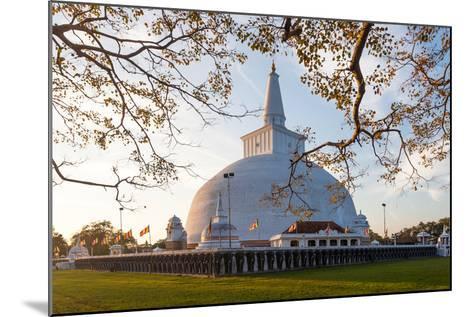 Mahatupa Big Dagoba in Anuradhapura at Sunset, Unesco, Sri Lanka, Asia-Honza Hruby-Mounted Photographic Print
