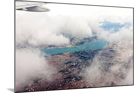 Aerial View of Istanbul- Koraysa-Mounted Photographic Print