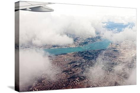 Aerial View of Istanbul- Koraysa-Stretched Canvas Print