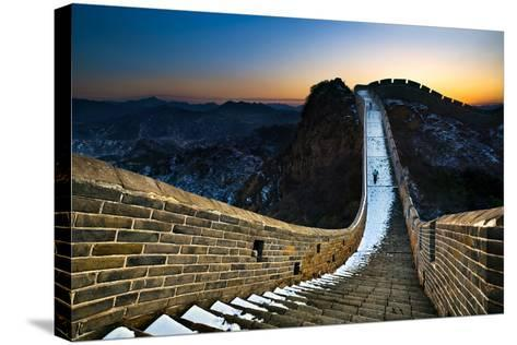 The Great Wall-Jun Mu-Stretched Canvas Print