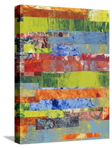 Monoprint Collage II-Regina Moore-Stretched Canvas Print